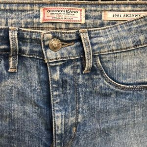 Guess Jeans 1981 Skinny Jeans 90s wash